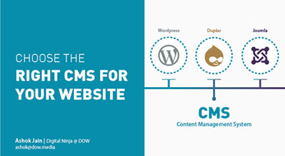 DOW MEDIA Choose the right CMS for your website